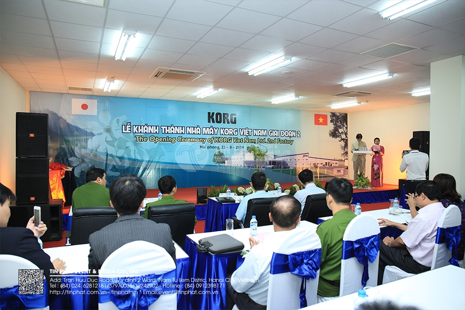 The Opening Ceremony Of Korg Vietnam Co.,Ltd 2nd Factory