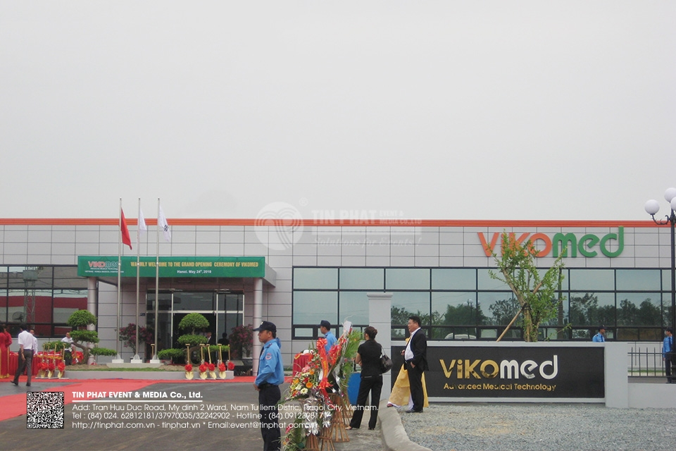 The Opening Ceremony Of Vikomed Factory