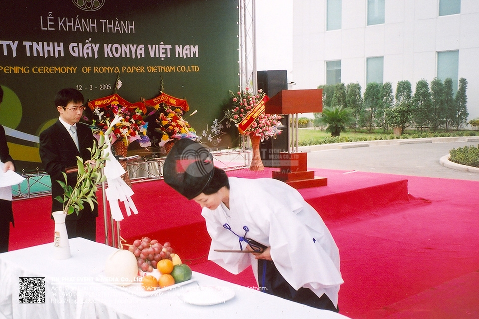 Grand Opening Ceremony of Konya Paper Viet Nam Co.,Ltd.