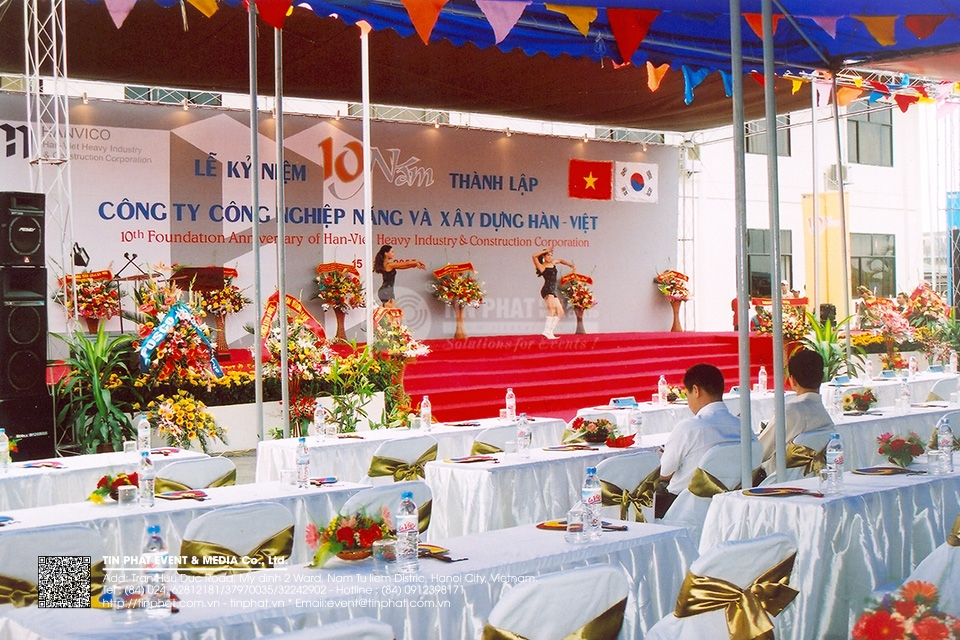 10th Foundation Anniversary Of Han-viet Heavy Industry & Constrution Corporation