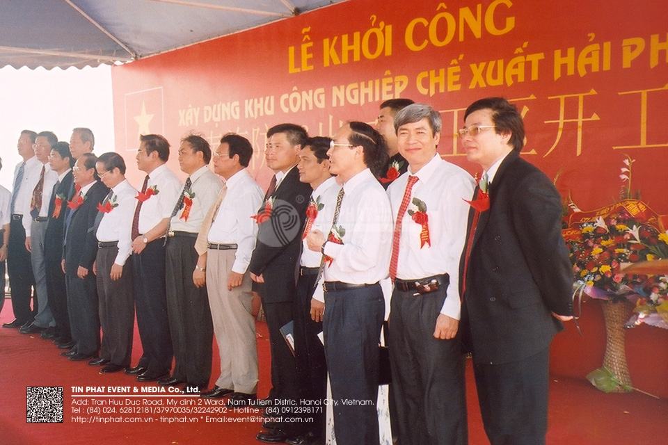 The Ground Breaking Ceremony Of  Hai Phong 96 Industrial - Processing Zone