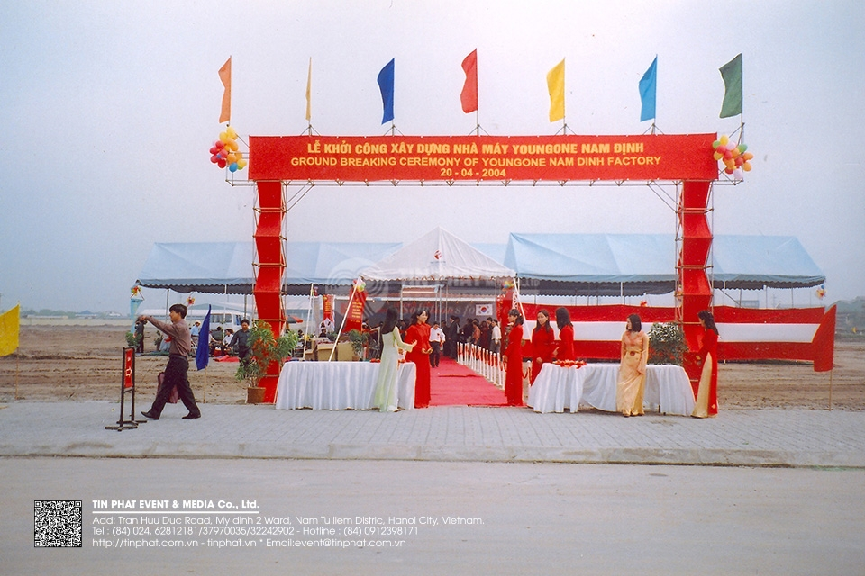 Ground Breaking Ceremony Of  Youngone Nam Dinh Factory