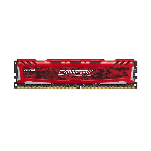 Ram PC Crucial Ballistix Sport LT 8GB Bus 2666 DDR4 CL16
