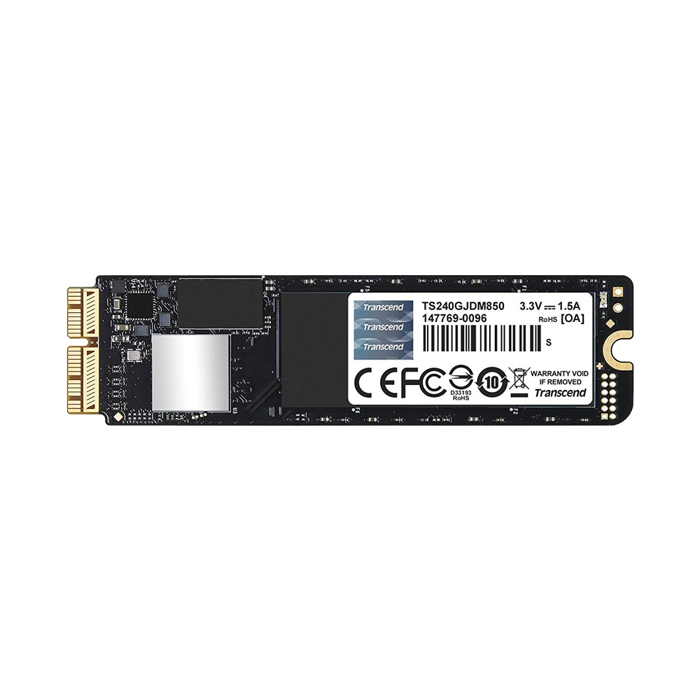 Ổ cứng SSD Transcend JetDrive 850 240GB cho MacBook - Mac Mini - Mac Pro TS240GJDM850
