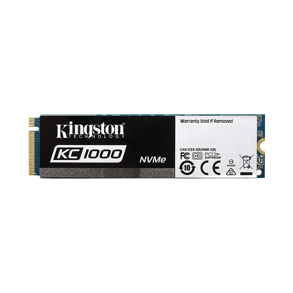 SSD Kingston KC1000 M.2 PCIe Gen3 x4 NVMe 480GB SKC1000/480G