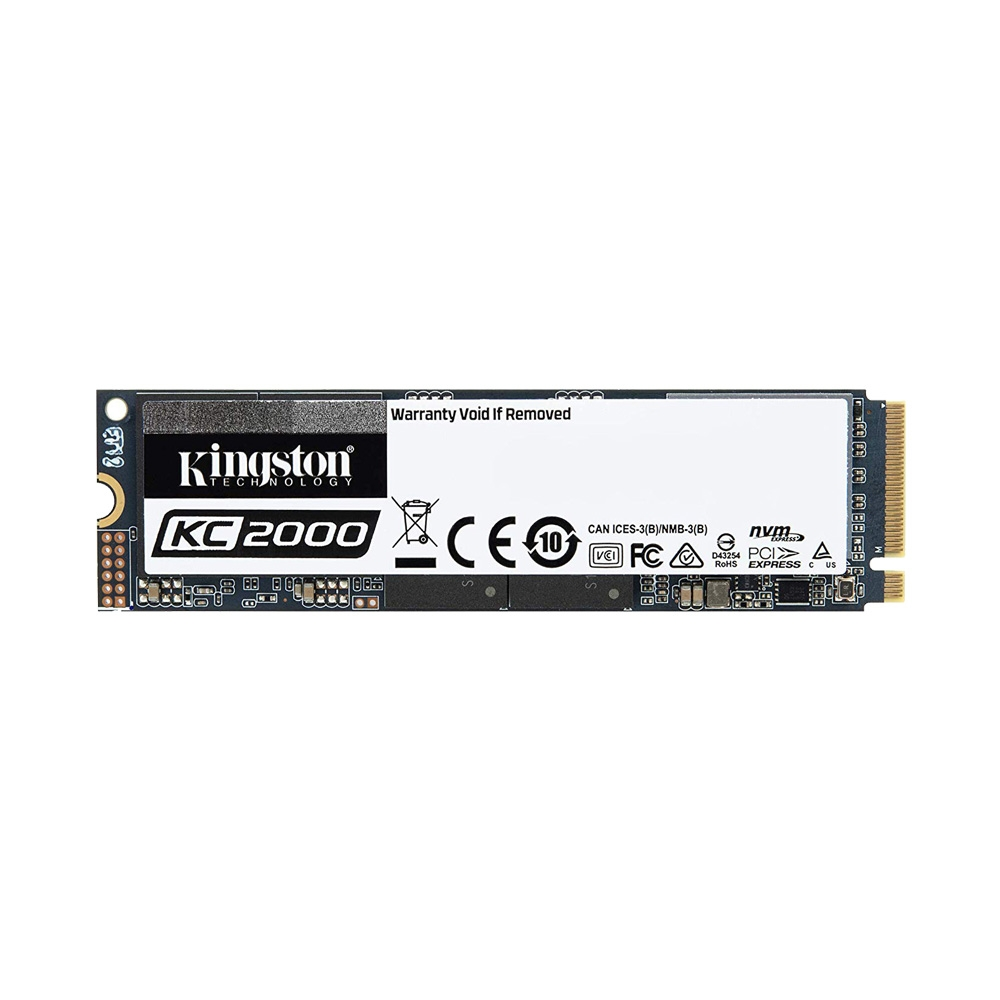 SSD Kingston KC2000 M.2 PCIe Gen3 x4 NVMe 500GB SKC2000M8/500G