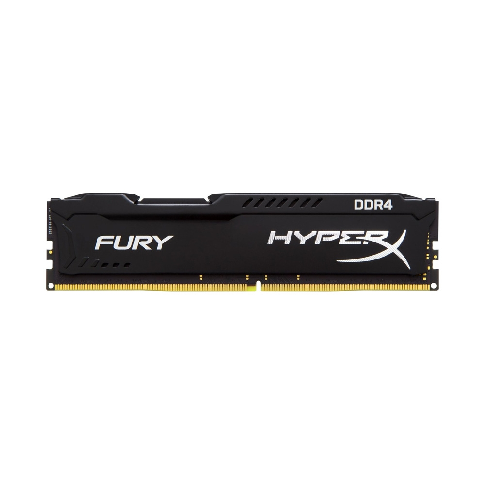 Ram PC Kingston HyperX Fury Black 8GB Bus 2666 DDR4 CL16 DIMM XMP Non-ECC (HX426C16FB2/8)