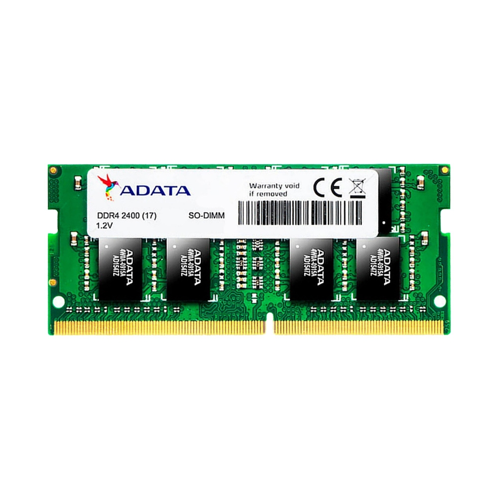 Ram Laptop Adata DDR4 4GB Bus 2400 CL17 SO-DIMM AD4S2400J4G17-S