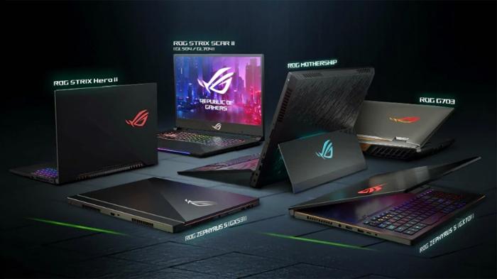 Laptop gaming cao cấp ROG