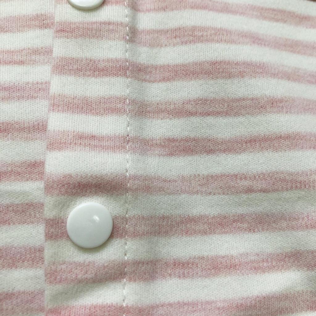 Bộ body cotton nỉ kẻ nhiều màu