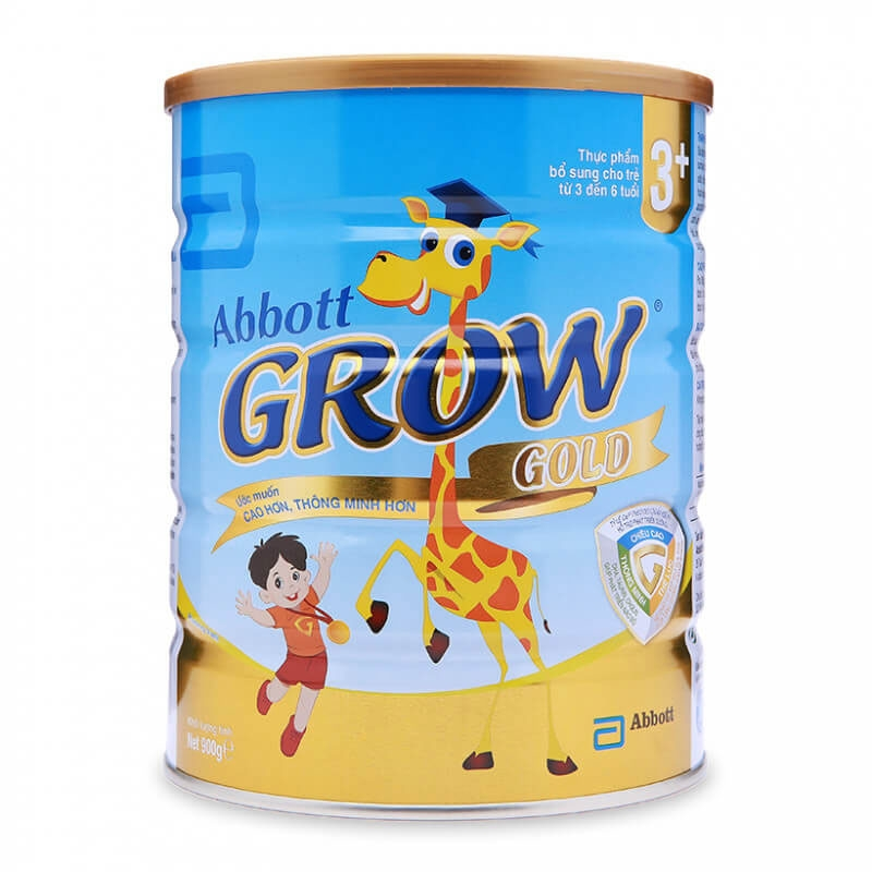 Sữa Abbott Grow Gold 3+ 900gr