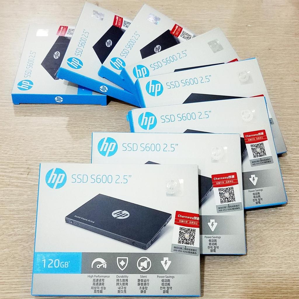 Ổ cứng SSD HP S600 120GB SATA - bảo hành 3 năm