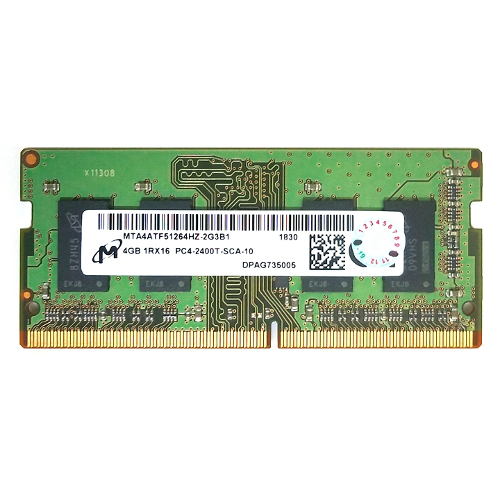 RAM laptop Micron DDR4 4GB bus 2400 MHz