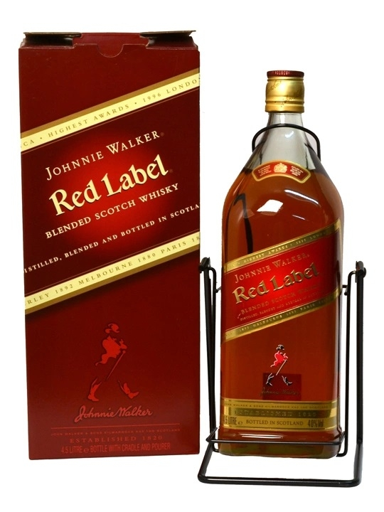RƯỢU JOHNNIE WALKER RED LABEL 4.5L