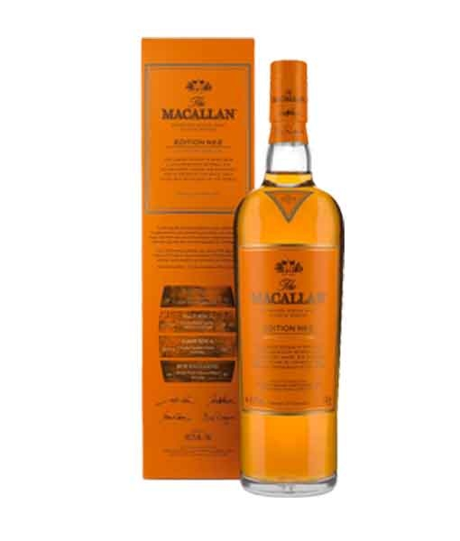 RƯỢU MACALLAN EDITION NO. 2