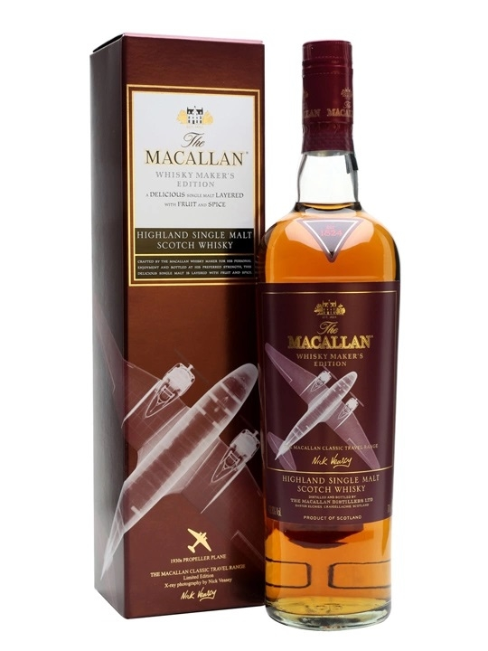 RƯỢU MACALLAN WHISKY MAKER'S EDITION 1930S MÁY BAY