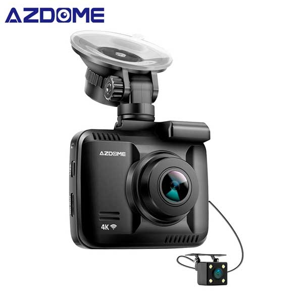 GS63H Dual Camera 2018. Quay Video 4K, Có WIFI + GPS
