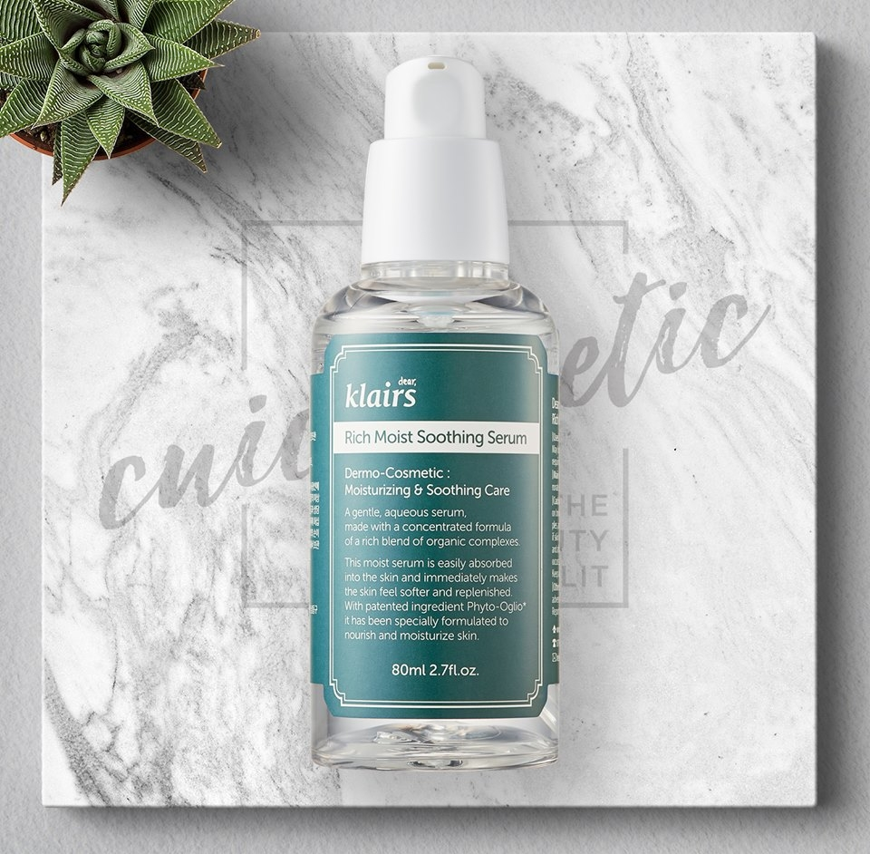 Serum dưỡng ẩm sâu Klairs Rich Moist Soothing Serum 80ml