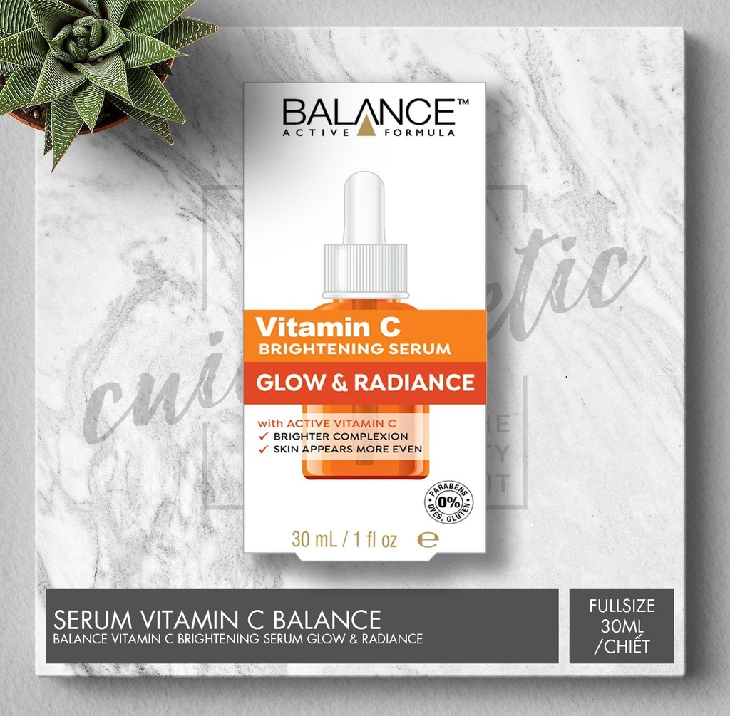 Serum Balance Vitamin C - Tinh chất dưỡng da Balance Active Formula Vitamin C Power Serum (30ml)