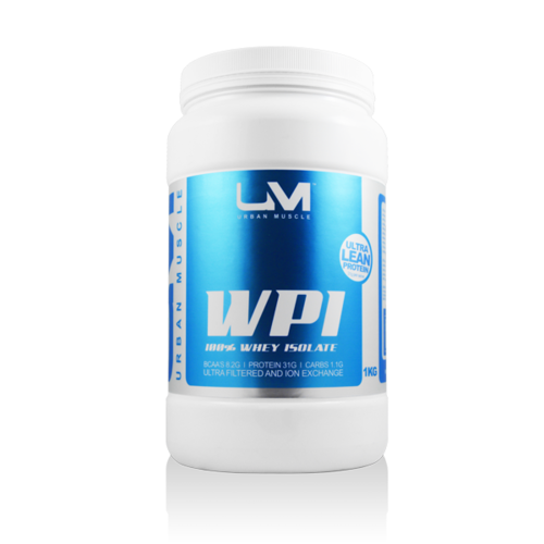 WPI - PURE WHEY PROTEIN ISOLATE 1KG
