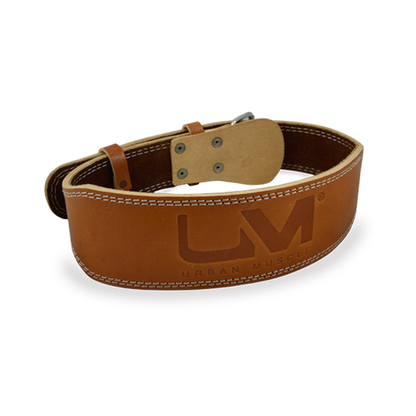 Genuine Leather Belt Tan