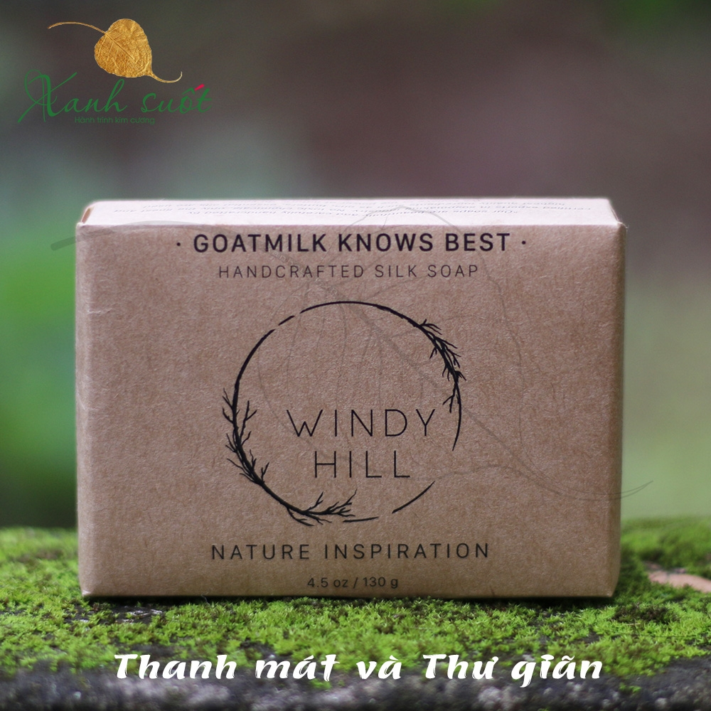 windy hill soap-Goatmilk Knows Best 130g