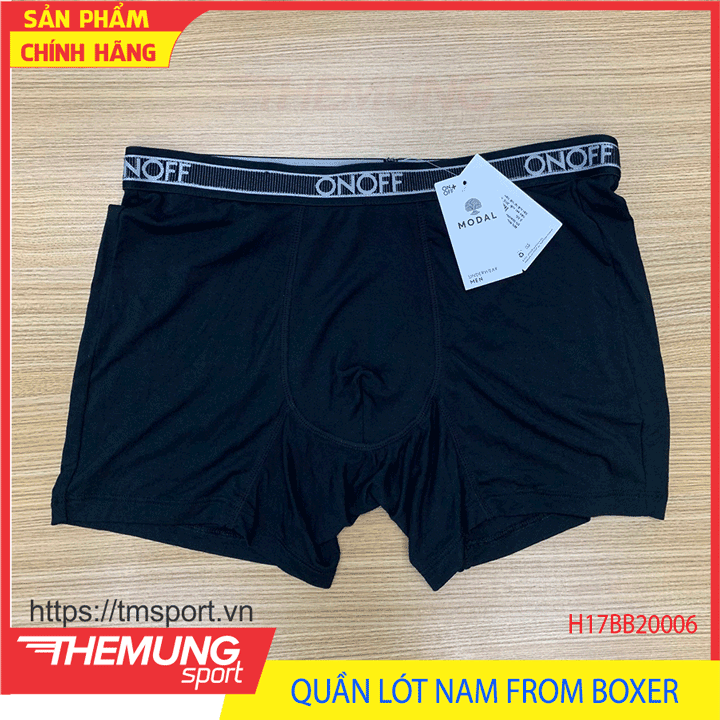 Quần Lót Nam From Boxer - Đen SK01 - Size S
