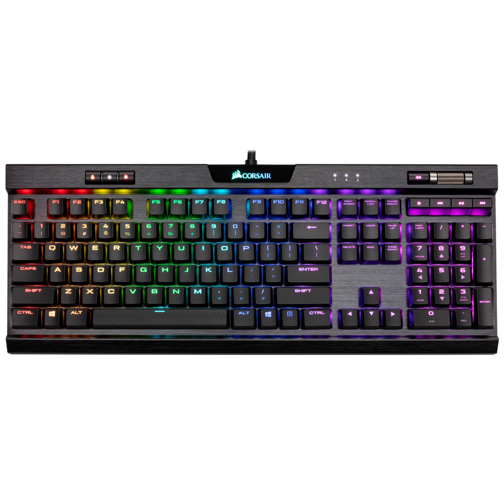 Corsair K70 MK 2-BLK-MX Low Profile RGB