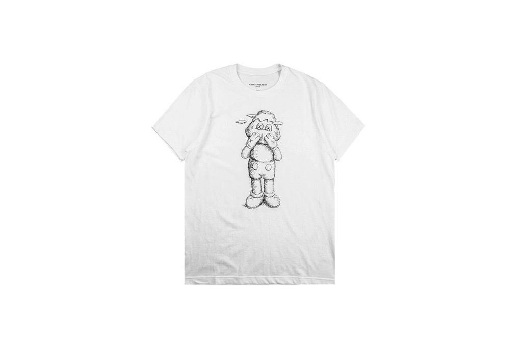 KAWS JAPAN HOLIDAY TEE White