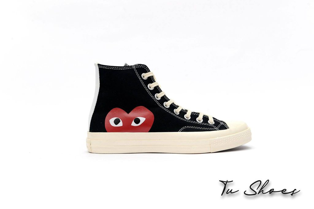 Chuck 70s x CDG Black High