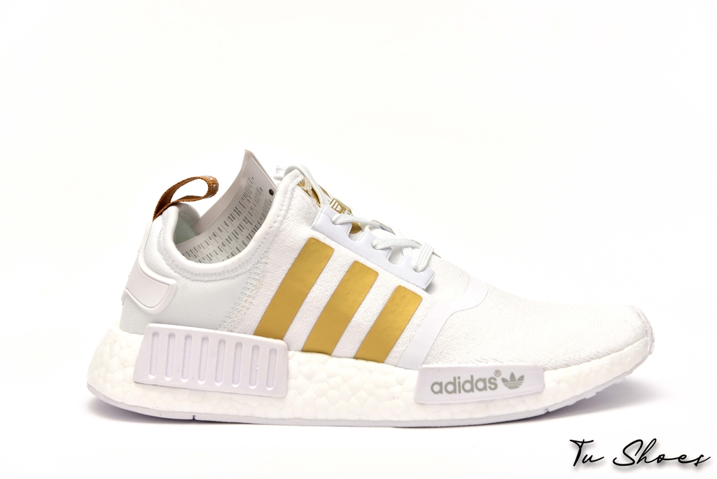 NMD R1 WHITE GOLD
