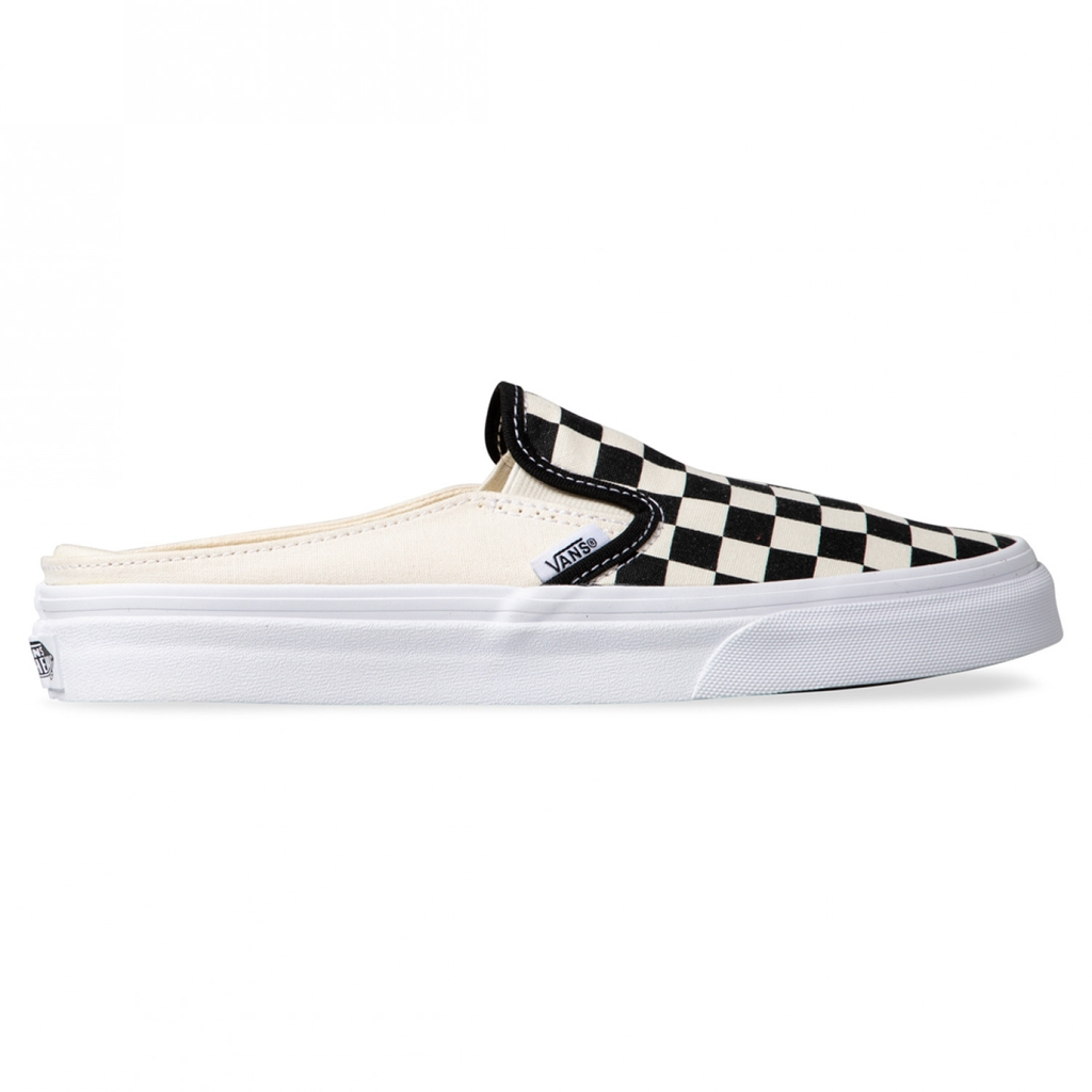 Slip On Checkerd Mule