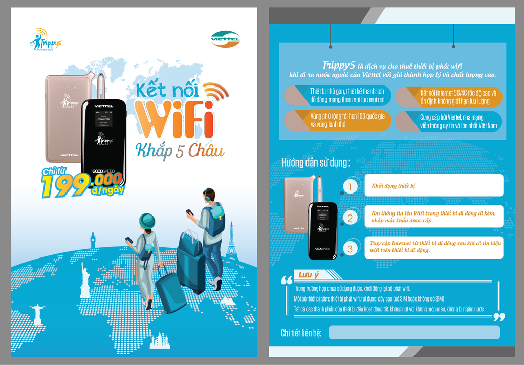 Wifi Pocket 500MB High Speed