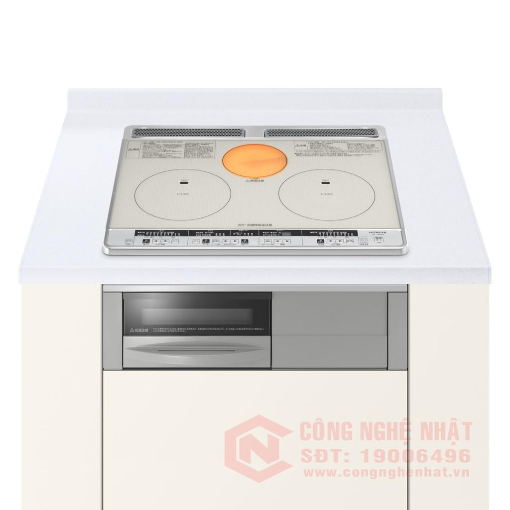 Bếp Từ - Hồng ngoại - Lò nướng Hitachi HT-K60S nội Địa Nhật 100%