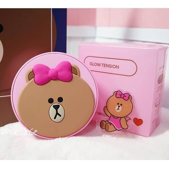 Phấn Nước Missha Glow Tension (Missha Cushion Bear)