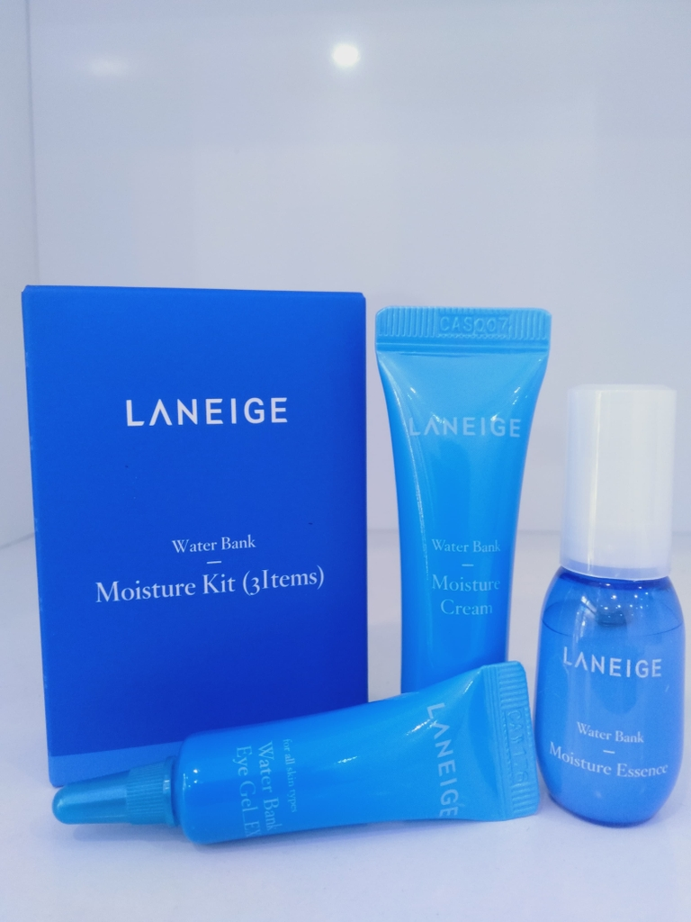Bộ dưỡng ẩm Laneige Water Bank Moisture Kit (3 items)