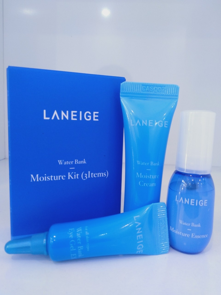Bộ Kit Dưỡng Ẩm Laneige Water Bank Moisture Kit 3 Items