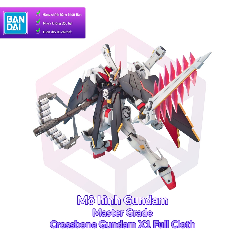 Bandai MG Crossbone Gundam X1 Full Cloth