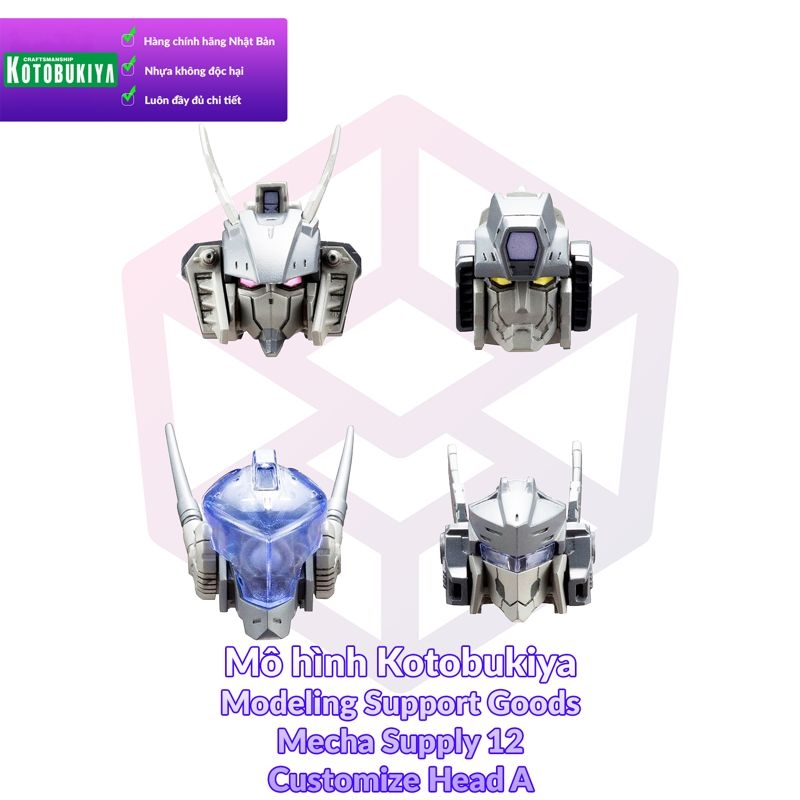 Kotobukiya M.S.G Mecha Supply 12 Customize Head A