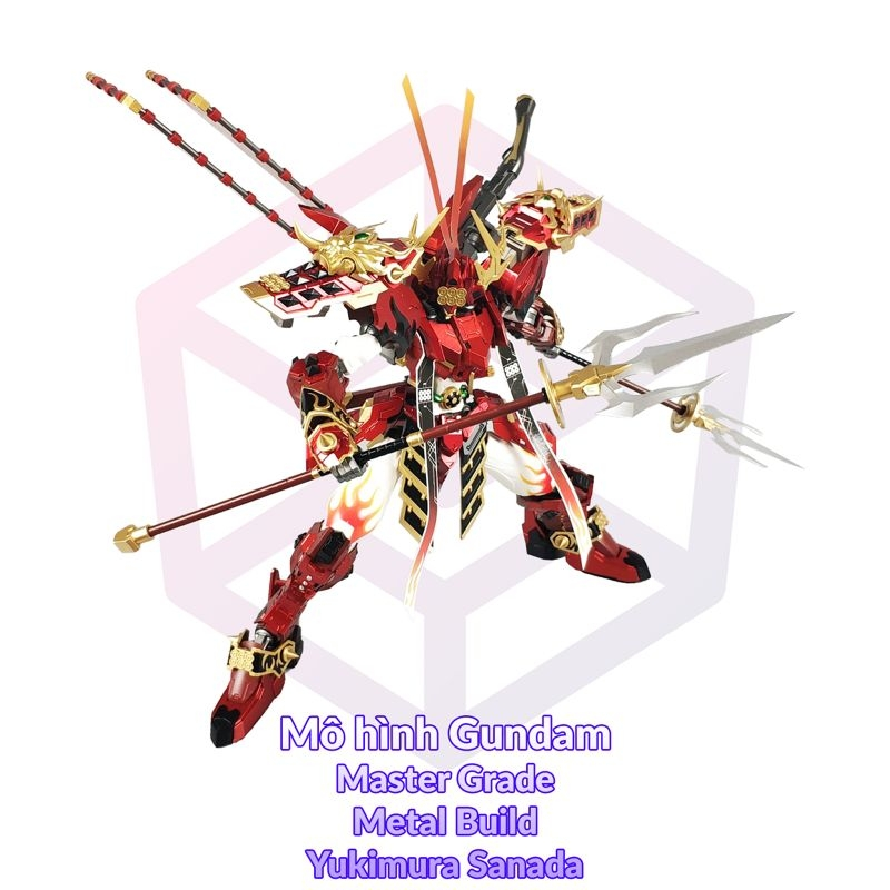 Devil Hunter DH-02 Metal Build Yukimura Sanada