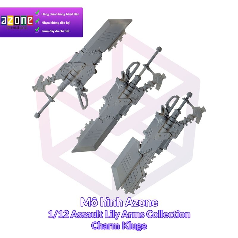 1/12 Assault Lily Arms Collection 002 Charm Kluge