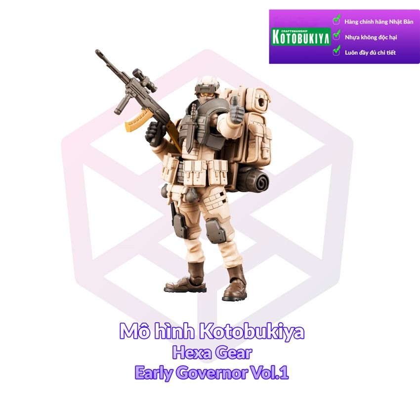 Kotobukiya 1/24 Hexa Gear Early Governor Vol.1