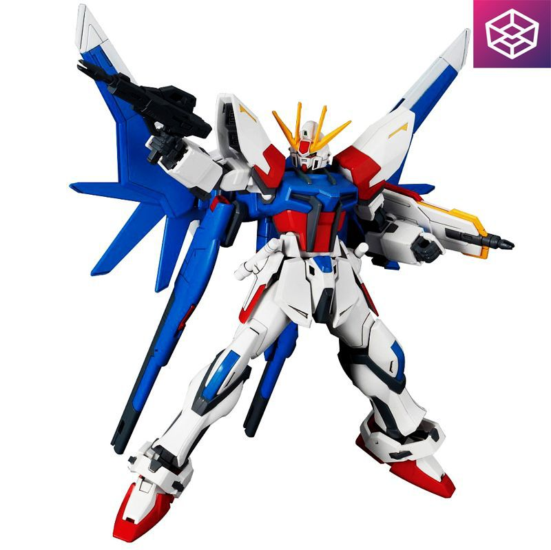Bandai HGBF 001 Build Strike Gundam Full Package