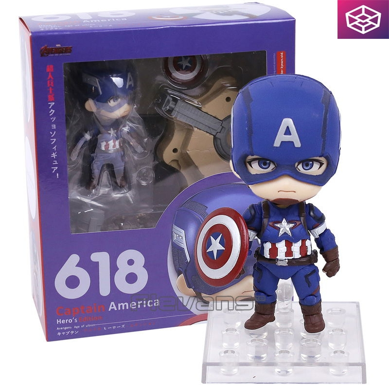 Mô hình Nendoroid 618 Avengers: Age of Ultron - Captain America: Hero's Edition [NEN]