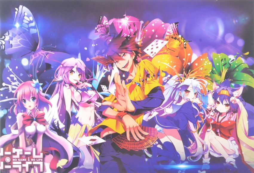 Poster 43x29 set 8 tấm - No Game No Life