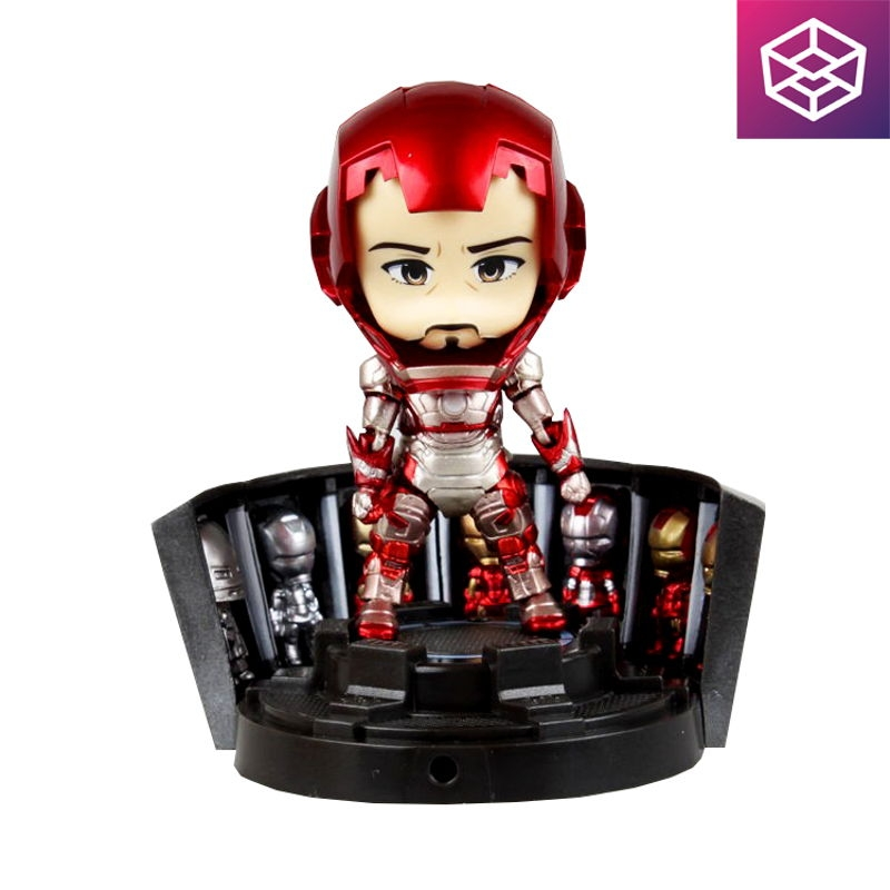 Nendoroid 349 Iron Man Mark 42: Hero's Edition + Hall of Armor Set