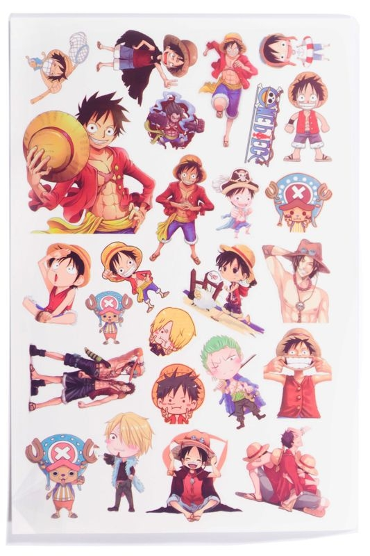 Sticker Tattoo hình xăm - One Piece