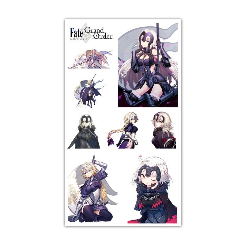 Sticker Tattoo hình xăm - Fate GO L2