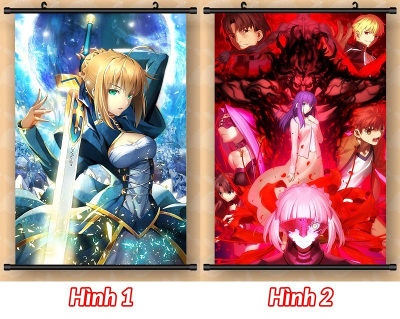 Poster Lụa 40x60 - Fate