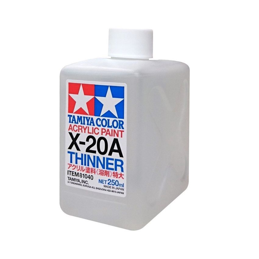 Tamiya Acrylic X-20A Thinner 250ml [81040]